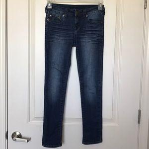 TRUE RELIGION • Casey Single End Skinny Jeans